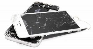 broken phone might be no accident