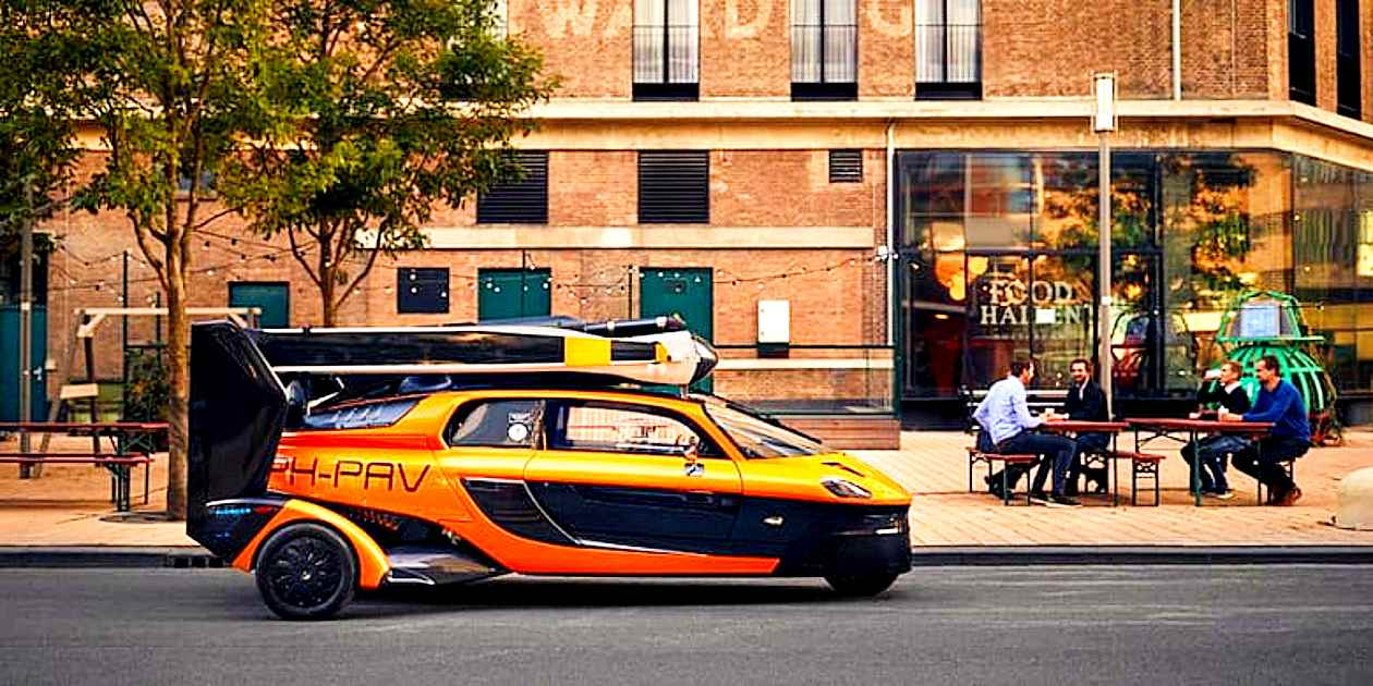 dutch Flying Car PAL-V Liberty