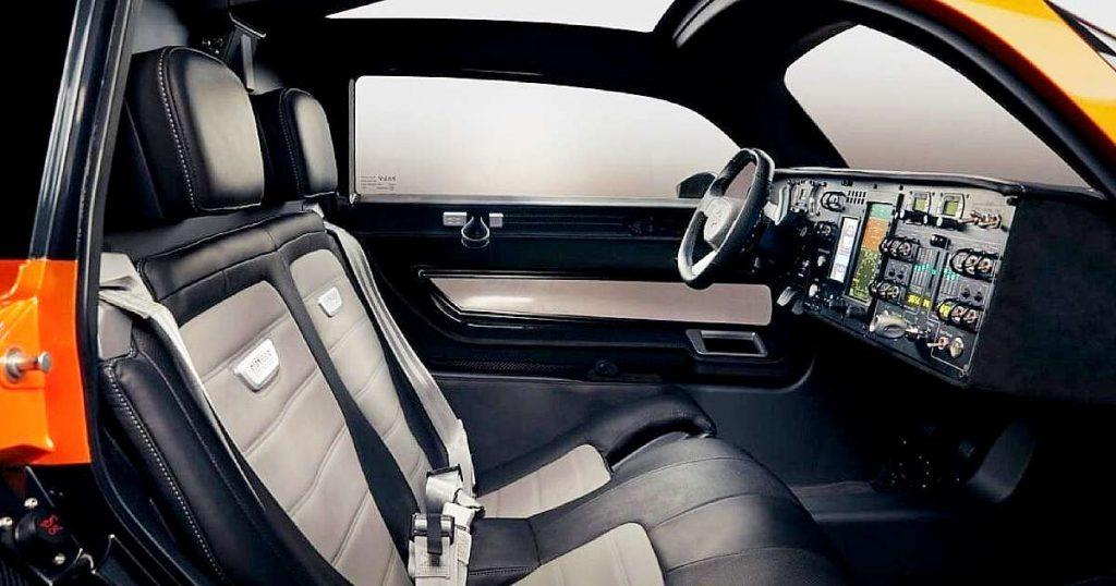 pal v liberty fying car interior 1