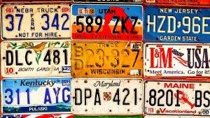 delaware license plates so expensive