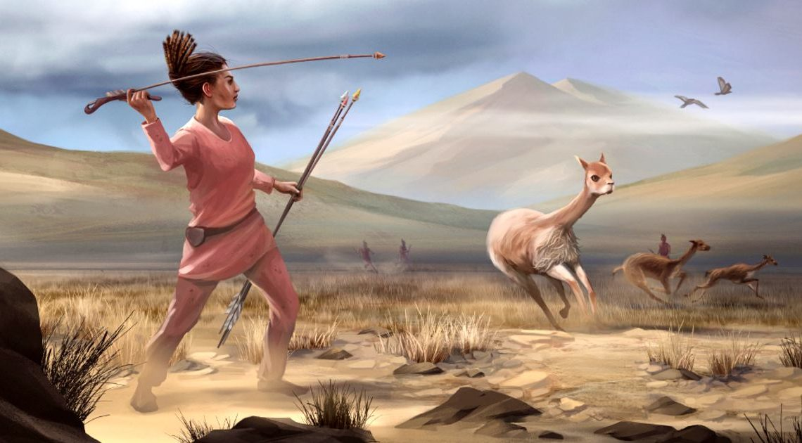 many early big game hunters were women