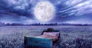 full moon and sleeping - picture of the moon