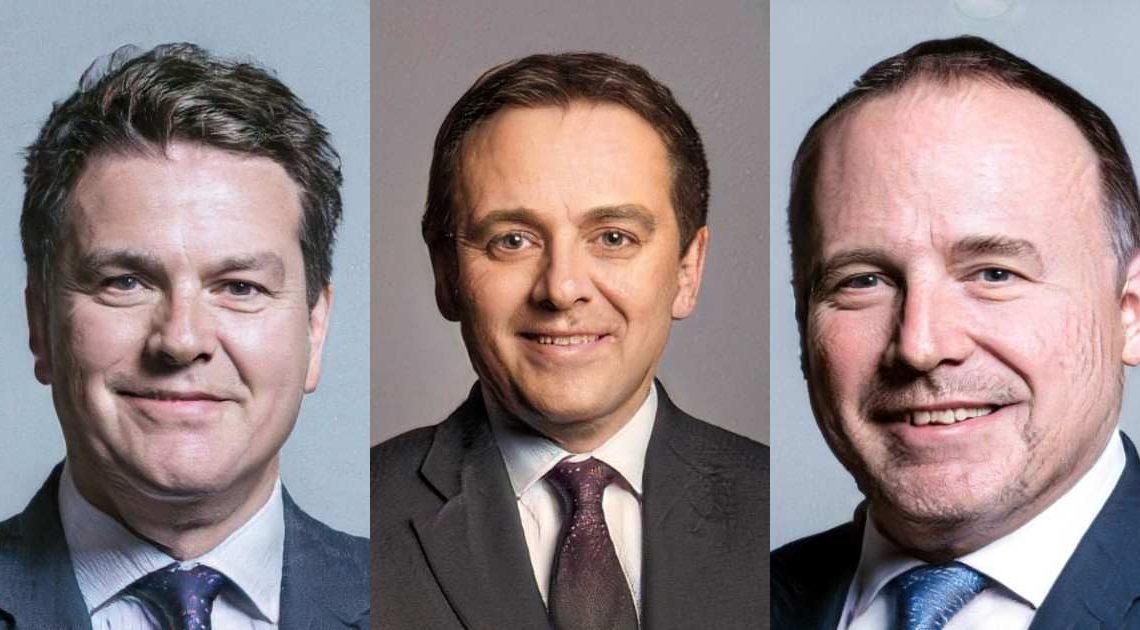 autocrat vs democrat - three men