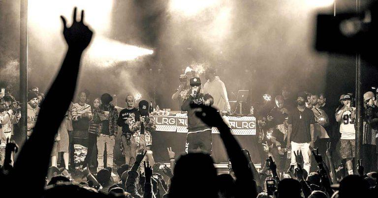 rock music recommendations - hop-hop concert