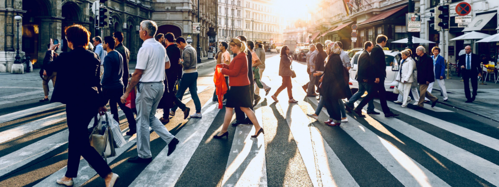 fear of people - crowded street - Photo by Jacek Dylag on Unsplash