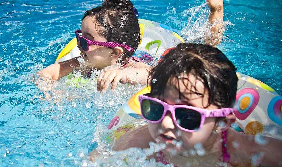 water purification technology - kids playing in water